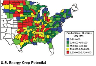 U.S. Department of Energy's Oak Ridge National Lab Bioenergy Agriculture Report